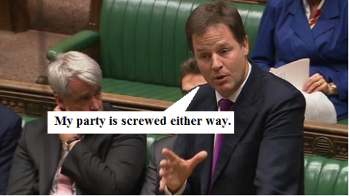 Clegg on Leveson