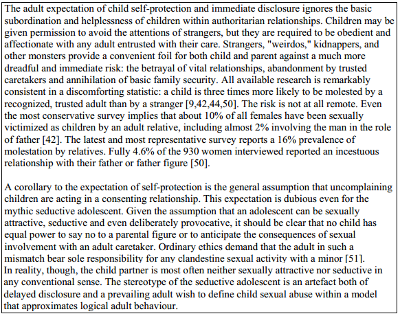 Child sexual abuse accommodation syndrome pics 5