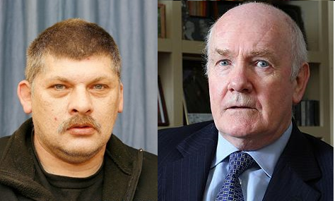 Derek Williams and John Reid