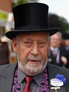 Ladie's Day At Royal Ascot - Day 3...ASCOT, UNITED KINGDOM - JUNE 22: Writer Sit Clement Freud attends Ladies Day on the third day of Royal Ascot at the Ascot Racecourse on June 22, 2006 in Berkshire, England. The event has been one of the highlights of the racing and social calendar since 1711, and the royal patronage continues today with a Royal Procession taking place in front of the grandstands daily. (Photo by Anwar Hussein/Getty Images)